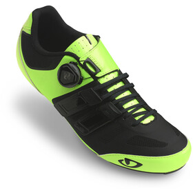 Giro Sentrie Techlace Schoenen Heren, highlight yellow/black